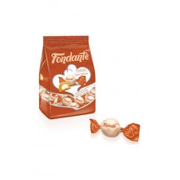 Elvan Fondante Fudge Çikolata Ve Süt Kremalı/1000 Gr Poşet