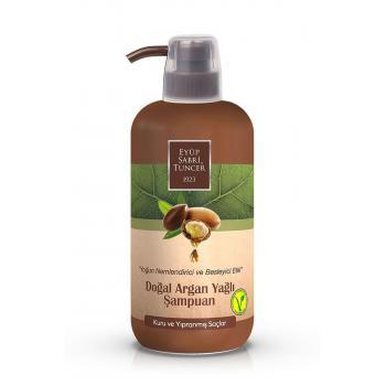 Eyüp Sabri Tuncer Doğal Argan Yağlı Şampuan 600 ml Pet Şişe