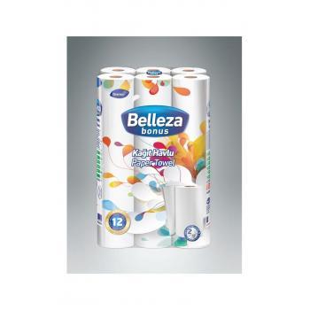 BELLEZA %100 Selüloz Diversey Bonus 12 Li Kağıt Havlu 2 Katlı