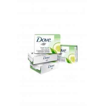 Dove Sabun Fresh Touch Salatalık Özlü 100 Gr 4'lü  PK.