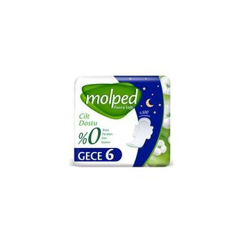 MOLPED Pure Soft Tekli Gece 6 Lı*2  PAKET