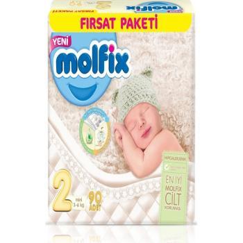 Bebek Bezi 2 Beden Mini Fırsat Paketi 90 Adet