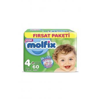 Bebek Bezi 4 Beden Maxi Fırsat Paketi 60 Adet
