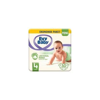 Evy Baby Bebek Bezi 4 Beden Maxi 30 Adet (Yeni)