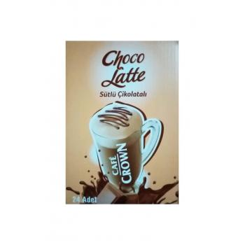 24 Adet Cafe Crown Choco Latte Sütlü Çikolatalı
