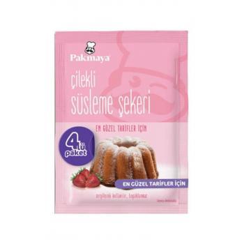 Çilekli Süsleme Şekeri 10 gr