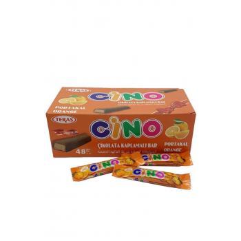 Cino Portakal King Size Çikolata 10 Gr (48 Adet)