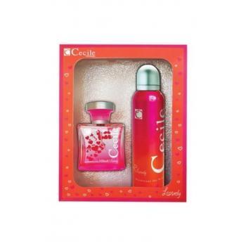 Lovely Edt 100 ml Kadın Parfümü + Deodorant 150 ml Kadın Parfüm Set 8698438602181