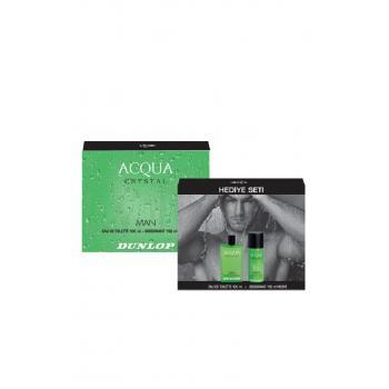 Erkek Acqua Crystal Edt 100 Ml + 150 Ml Deodorant Parfüm Seti 8690587308808