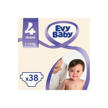 Bebek Bezi Maxi 4 Beden 38 Adet
