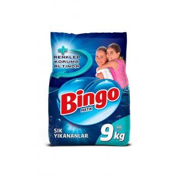 Matik Toz Çamaşır Deterjanı Sık Yıkananlar Renkli ve Beyaz 9 kg