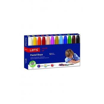 12 Renk Pastel Boya L-6120