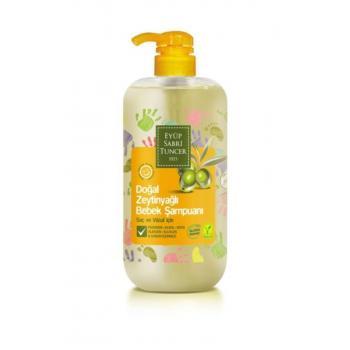 Doğal Zeytinyağlı Bebek Şampuanı 600 Ml