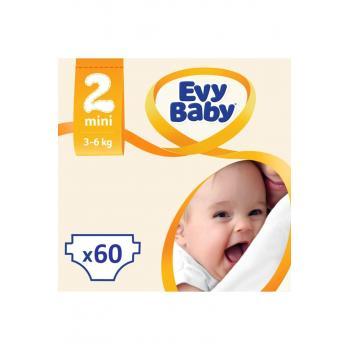 Bebek Bezi Mini 2 Beden Jumbo Paket 60 Adet