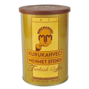Kurukahveci Türk Kahvesi 250 G Teneke Ambalaj
