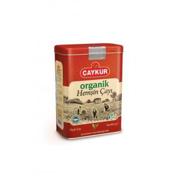 Teneke Kutu Organik Hemşin Çay 400 Gr