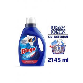 Ultra Beyaz Sıvı Çamaşır Deterjanı 2145 ml