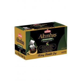 Altınbaş Demlik Poşet Çay Bergamot Aromalı 40 Adet