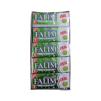 Işıl Şekersiz Sakız Elma Aromalı 5 li 8 gr x 20 Adet