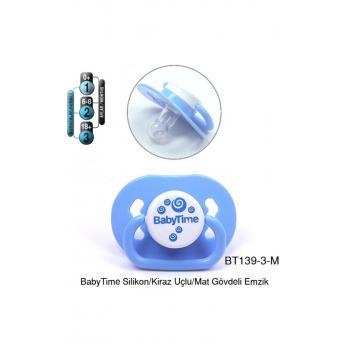 Bt139-3 Silikon Damaklı Koruma Kapaklı Emzik No:3