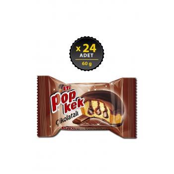 Popkek Çikolatalı 60 G X 24 Adet