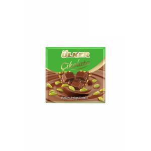 Çikolata Antep Fıstıklı Kare 70 Gr