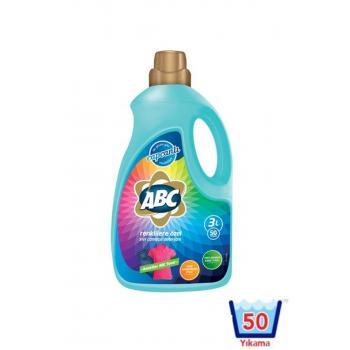 Sıvı Çamaşır Deterjanı Renkliler 3 lt