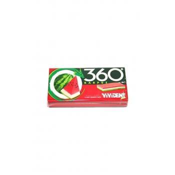 360 Cüzdan 3d Karpuz Aromalı Sakız 33 Gr