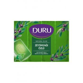 Natural Olive Zeytinyağlı 4 Adet Banyo Sabunu 600gr