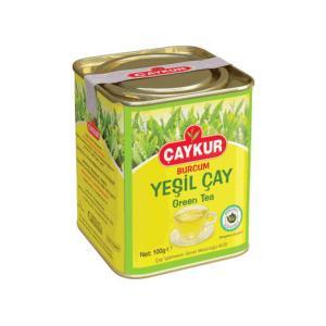 Burcum Yeşil Çay Teneke Kutu 100 Gr