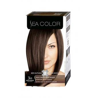 Sea Color 2'li Krem Set Boya 3.0 Koyu Kahve