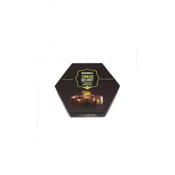 Lokum Fıstıklı Çikolata Kaplı 140 Gr
