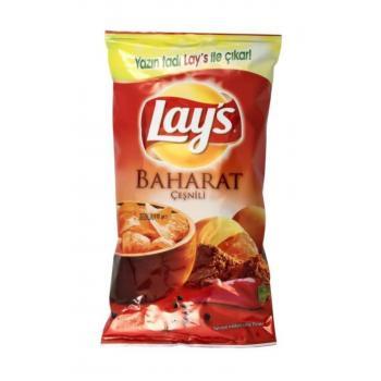 Lays Baharatlı Patates Cipsi Süper 106 gr  <3 pk fiyatı