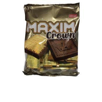 Elvan Maxim Crown Kokolinli Bisküvi 11 gr* 25 lİ (1 POŞET) Elvan