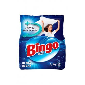 Ultra Beyaz Toz Çamaşır Deterjanı 1,5 kg