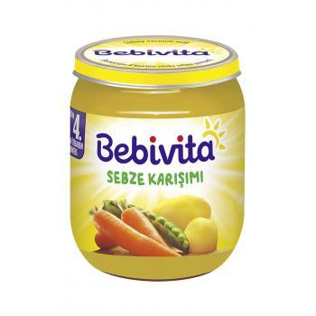Bebivita   Sebze Karışımı 125 gr *2 ADET