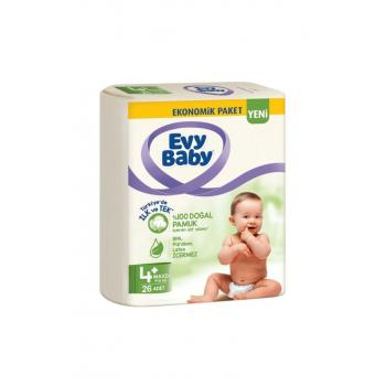 Bebek Bezi 4+ Beden Maxiplus 26 Adet Yeni Paket