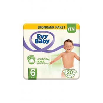 Bebek Bezi 6 Beden XL 20 Adet Yeni Paket
