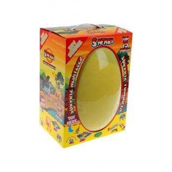 Safarı Dev Sürprız Yumurta 15 Parça 23x31 cm