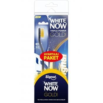 White Now Gold Diş Macunu 75 Ml + Orta Fırça Set