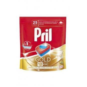 Pril Bulaşık Makinası Deterjanı Gold 25 Tablet 2 Adet