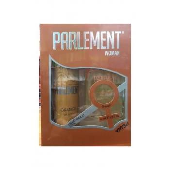 Parlement Women Orange Gıft Set