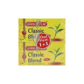 Çay Classic Blend Süzen Poşet Siyah Çay 50 Li