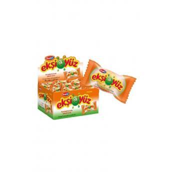 Ekşiyüz Sakız 100 Adet Portakal Aromalı