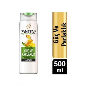 Şampuan Doğal Sentez Güç ve Parlaklık 500 ml