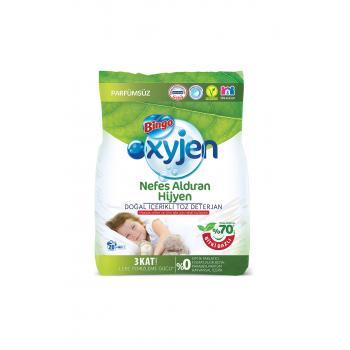 Oxyjen Doğal İçerikli  Toz Çamaşır Deterjanı 4 Kg
