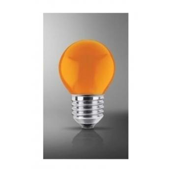 15 Watt Renkli Gece Lambası Ampulü Turuncu Renk