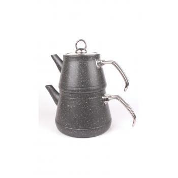 Granit Kaplama Alüminyum Gövde Çaydanlık