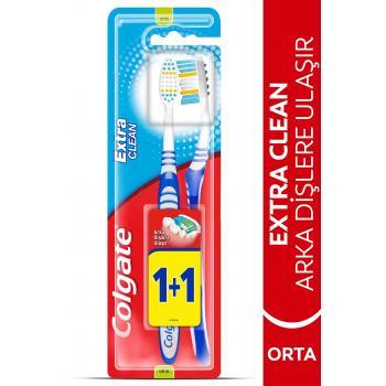 Extra Clean Orta Diş Fırçası 1+1