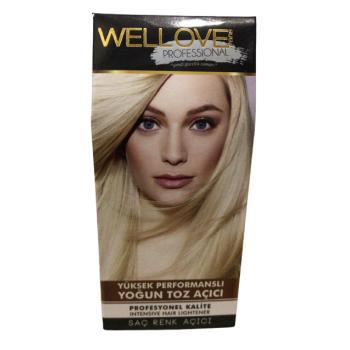 Wellove Tek Kullanımlık Yüksek Performanslı Saç Açıcı 50 ml